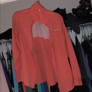 Orange Columbia PFG with some staining